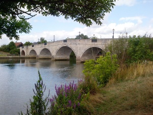 18th century Chertsey Bridge