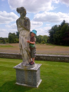 Statue at Foxhills Manor