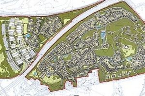 Map of Proposed DERA site
